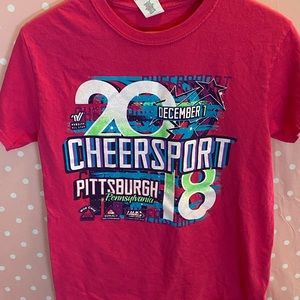 Cheer sport 2018 T-shirt size small